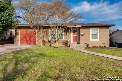 San Antonio Single Family Home New: 611 Sumner Dr