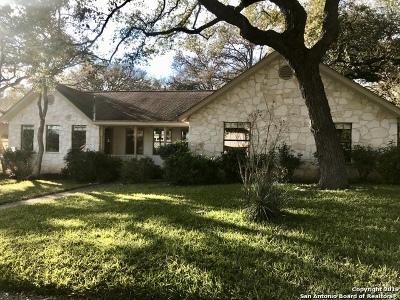 San Antonio Single Family Home New: 13411 La Vista Dr