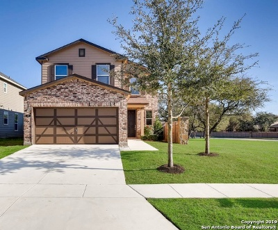 Boerne Single Family Home New: 209 Lasso Falls