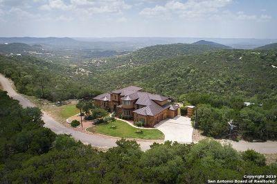 Pipe Creek Single Family Home For Sale: 1583 S Goat Ridge