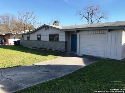 San Antonio Single Family Home Back on Market: 7218 Westville Dr