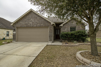 Schertz Single Family Home Active Option: 3136 Muntjac