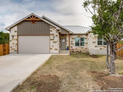 Canyon Lake Single Family Home Active Option: 1384 Bellewood Ln