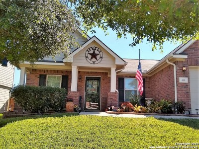 Cibolo Single Family Home Active Option: 201 Carnousty Dr