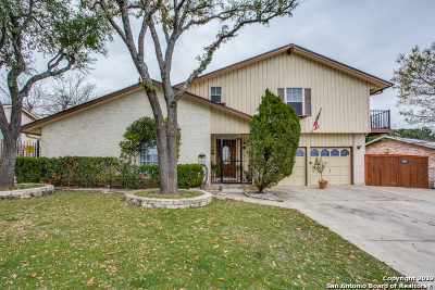 San Antonio Single Family Home New: 3739 Sunshine Ranch Rd