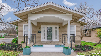 San Antonio Single Family Home Price Change: 725 W Summit Ave