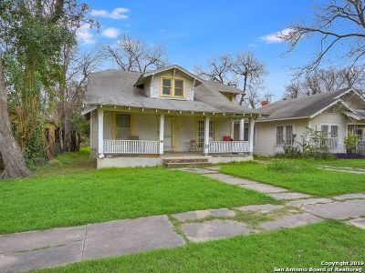San Antonio Single Family Home New: 943 W Gramercy Pl