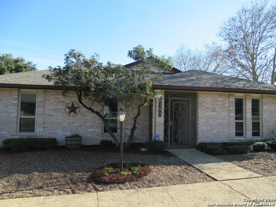 Windcrest Single Family Home Active Option: 6102 Windy Knoll
