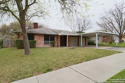Schertz Single Family Home Active Option: 3417 Morning Dr