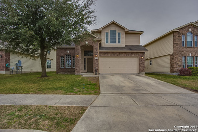 Cibolo Single Family Home Price Change: 345 Wagon Wheel Way
