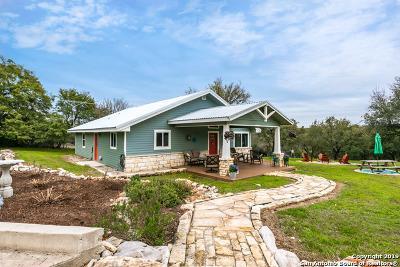 Canyon Lake Single Family Home Active Option: 694 Abels Way