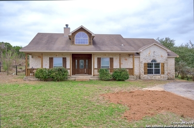 Spring Branch Single Family Home For Sale: 517 Thoroughbred Ln