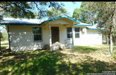 Pipe Creek Single Family Home Active Option: 177 32nd St W