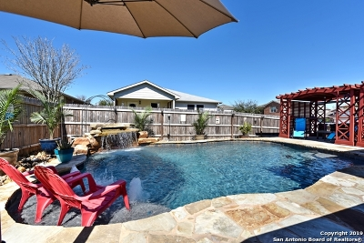 Cibolo Single Family Home Active Option: 348 Cattle Run