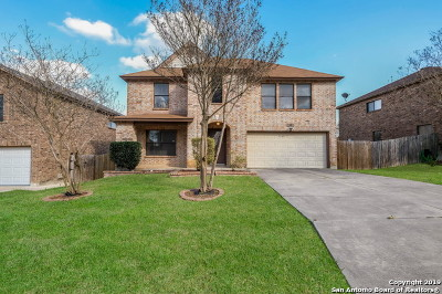 Converse Single Family Home For Sale: 8114 Cantura Mills