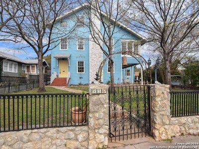 San Antonio Single Family Home For Sale: 235 E Huisache Ave