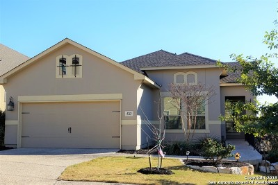 Heights At Stone Oak Single Family Home For Sale: 523 Tranquil Oak