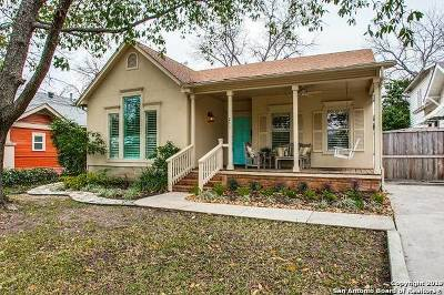 Alamo Heights Single Family Home For Sale: 211 Argo Ave