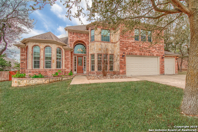 Bexar County Single Family Home Active Option: 11922 Coleto Creek