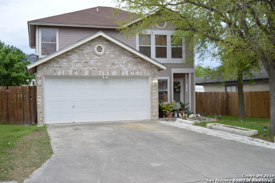 Converse Single Family Home For Sale: 8163 Cheryl Meadow Dr