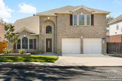 Bexar County Single Family Home Price Change: 1231 Saxonhill Dr