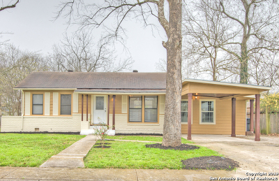Schertz Single Family Home Price Change: 208 Mitchell Ave