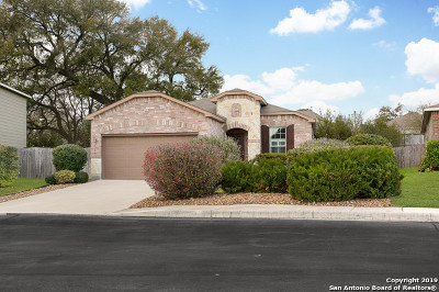 Boerne Single Family Home Price Change: 7515 Camino Manor