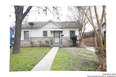 San Antonio Single Family Home Active Option: 128 Nelson Ave