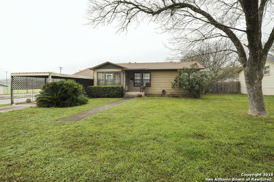 Schertz Single Family Home Back on Market: 201 Mitchell Ave