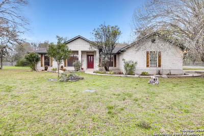 San Antonio Single Family Home Active Option: 26525 Harmony Hills