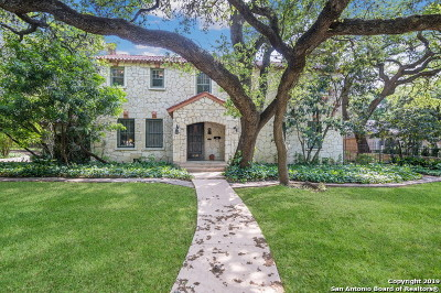 San Antonio Single Family Home Back on Market: 446 E Hildebrand Ave
