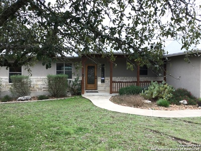 Bandera Single Family Home For Sale: 530 Old Camp Rd