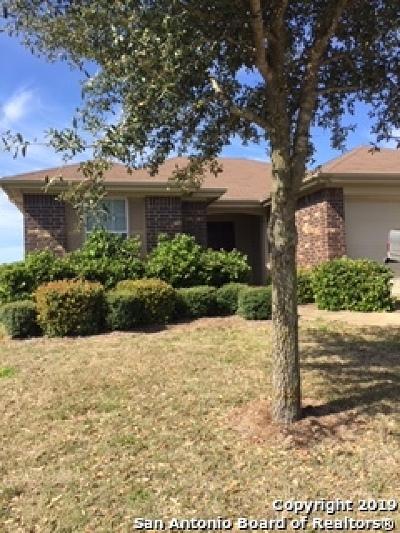 Schertz, Cibolo Single Family Home Active Option: 3921 Whisper Ridge