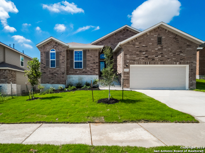 Schertz Single Family Home Price Change: 12520 Barr Way