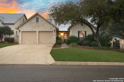 Boerne Single Family Home Price Change: 252 Well Springs