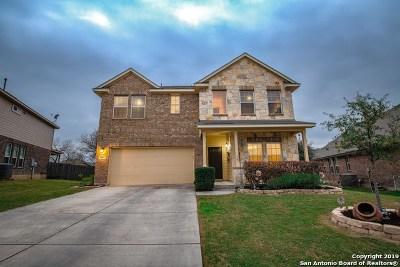 Bexar County Single Family Home Active Option: 5607 Bonham Path