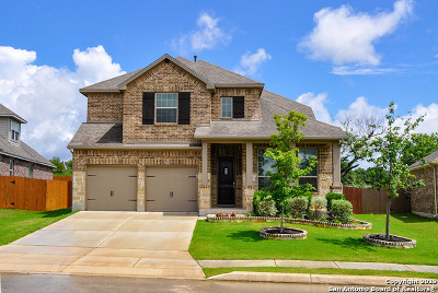 Bulverde Single Family Home Price Change: 30689 Horseshoe Path