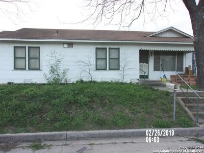 Atascosa County Single Family Home Active Option: 285 3rd