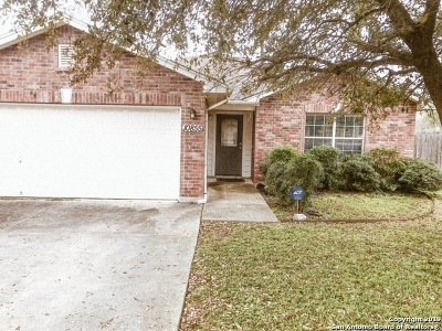 Converse Single Family Home For Sale: 10855 Laurel Creek