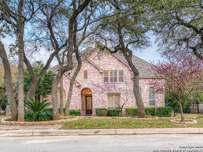 San Antonio Single Family Home Back on Market: 22714 Steeple Oak