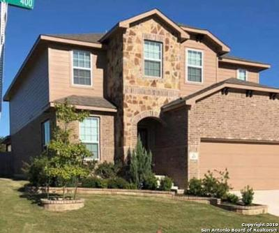 Cibolo Single Family Home Active Option: 433 Trotti Cove
