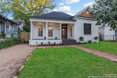 Single Family Home Price Change: 1018 Burnet St