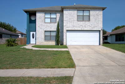 New Braunfels Single Family Home Active Option: 347 Stone Gate Dr
