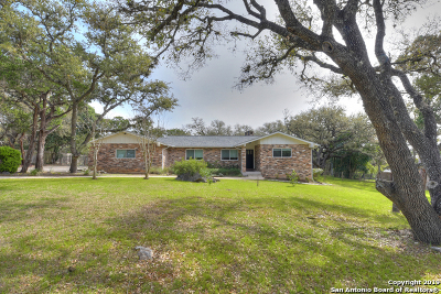 Helotes Single Family Home Active Option: 10743 Bar X Trail