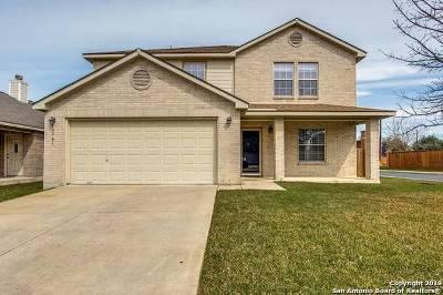 Bexar County Single Family Home Active Option: 12707 Gardenia Pass