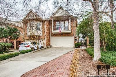 Alamo Heights Single Family Home Active Option: 151 Elizabeth Rd