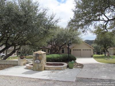 Canyon Lake Single Family Home Active Option: 521 Lorne Rd