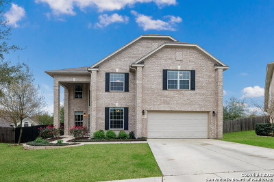 Cibolo Single Family Home Active Option: 205 Long Cove Dr
