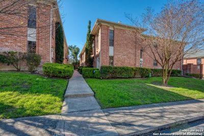 San Antonio Condo/Townhouse Back on Market: 7815 Broadway St #206B