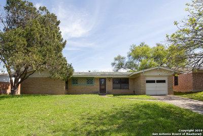 San Antonio Single Family Home Back on Market: 4614 Lorelei Dr